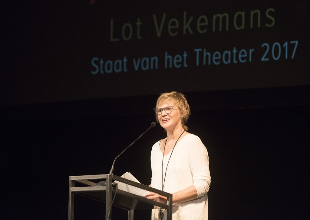 Lot Vekemans roept mensen met hart voor theater op moed te tonen
