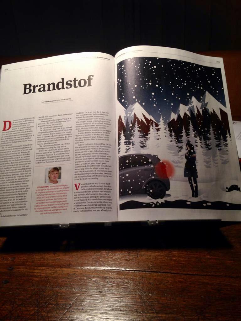 """Verhaal """"Brandstof"""" opgenomen in kerstnummer van Elsevier Weekblad"""